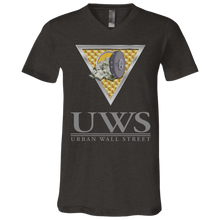Load image into Gallery viewer, UWS LOGO Crew Bella + Canvas Unisex Jersey SS V-Neck T-Shirt