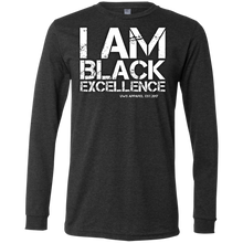 Load image into Gallery viewer, I AM BLACK EXCELLENCE Men's Jersey LS T-Shirt