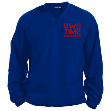 Load image into Gallery viewer, UWS TC LOGO Sport-Tek Pullover V-Neck Windshirt
