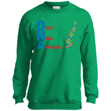 Load image into Gallery viewer, DNA - Don't Need Approval Youth Crewneck Sweatshirt