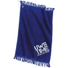 Load image into Gallery viewer, UWS TC LOGO Port & Co. Grommeted Finger Tip Towel