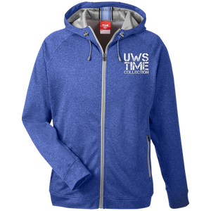 UWS TIME COLLECTION Men's Heathered Performance Hooded Jacket