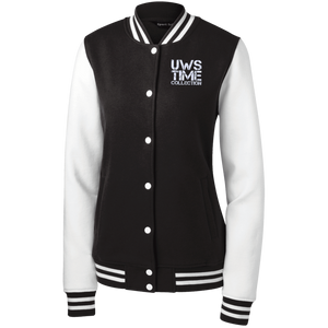 UWS TIME COLLECTION Ladies' Fleece Letterman Jacket