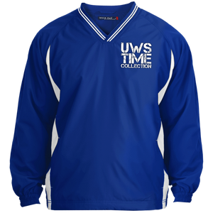 UWS TIME COLLECTION Tipped V-Neck Windshirt