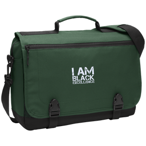 I AM BLACK EXCELLENCE Messenger Briefcase