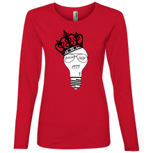 Load image into Gallery viewer, Genius Child (1999 w/crown) Ladies' Lightweight LS T-Shirt