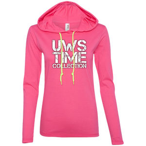 UWS TIME COLLECTION Logo Ladies' LS T-Shirt Hoodie