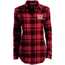 Load image into Gallery viewer, UWS TC Ladies' Plaid Flannel Tunic