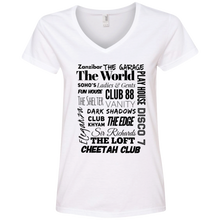 "Load image into Gallery viewer, ""You Know You're From NJ..."" Ladies' V-Neck T-Shirt"