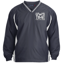 Load image into Gallery viewer, UWS TIME COLLECTION Tipped V-Neck Windshirt