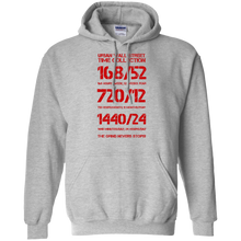 Load image into Gallery viewer, UWS TC Special Edition (Gry/Red) Pullover Hoodie 8 oz.