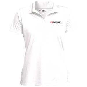 OVNIO Women's Micropique Tag-Free Flat-Knit Collar Polo