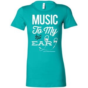 """Music To My Ear..."" Ladies' Favorite T-Shirt"