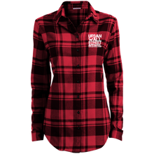 Load image into Gallery viewer, UWS  Ladies' Plaid Flannel Tunic