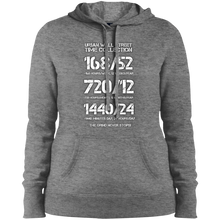 Load image into Gallery viewer, UWS TIME COLLECTION Ladies' Pullover Hooded Sweatshirt