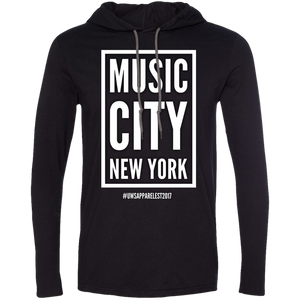 MUSIC CITY NEW YORK LS T-Shirt Hoodie