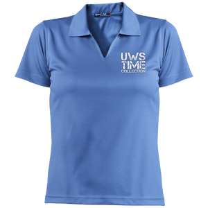 UWS TIME COLLECTION Ladies' Dri-Mesh Short Sleeve Polo
