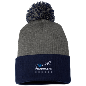 YOUNG PRODUCERS Pom Pom Knit Cap