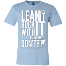 "Load image into Gallery viewer, ""Lean With It..."" Unisex Jersey Short-Sleeve T-Shirt"