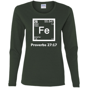 Fe-Proverbs Ladies' Cotton LS T-Shirt