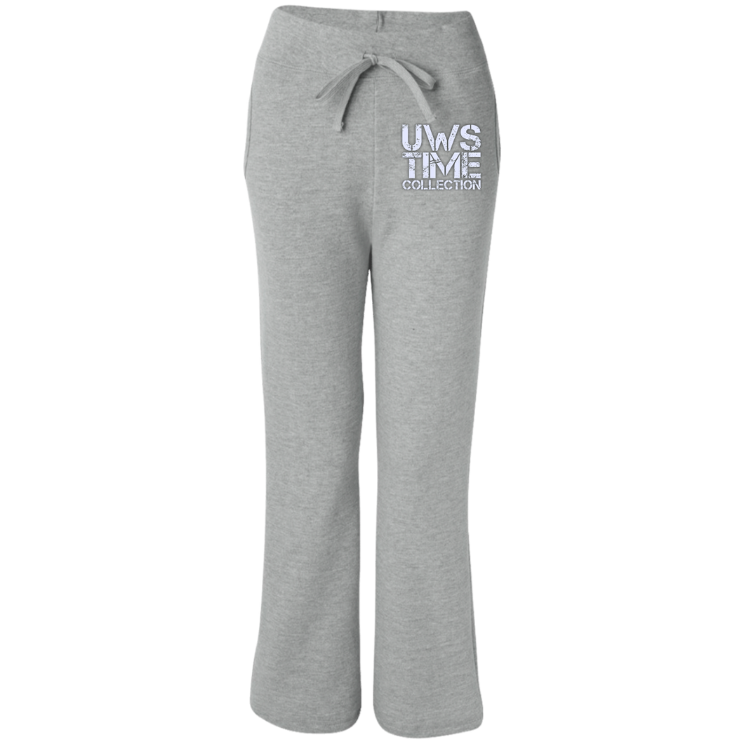 UWS TIME COLLECTION Women's Open Bottom Sweatpants with Pockets