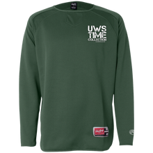 Load image into Gallery viewer, UWS TC LOGO (crest) Rawlings® Flatback Mesh Fleece Pullover