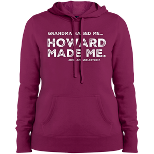 """GRANDMA RAISED ME"" Ladies' Pullover Hoodie"