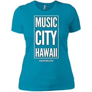 MUSIC CITY HAWAII Ladies' Boyfriend T-Shirt