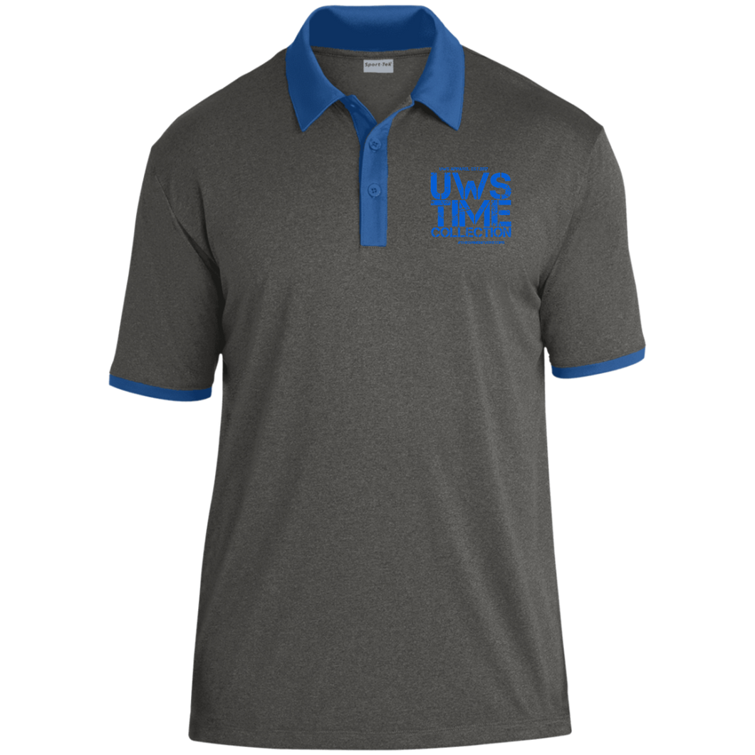 UWS TC Heather Contender Contrast Polo