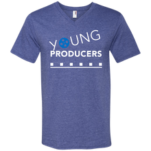 Load image into Gallery viewer, YOUNG PRODUCERS Men's Printed V-Neck T-Shirt