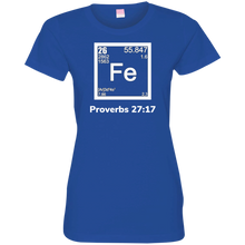 Load image into Gallery viewer, Fe -Proverbs Ladies' Fine Jersey T-Shirt