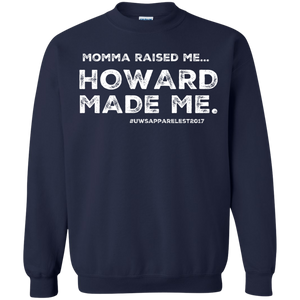 """MOMMA MADE ME"" Crewneck Pullover Sweatshirt  8 oz."