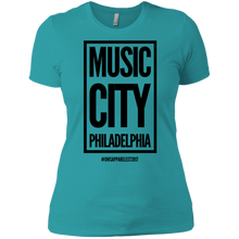 Load image into Gallery viewer, MUSIC CITY PHILADELPHIA Ladies' Boyfriend T-Shirt