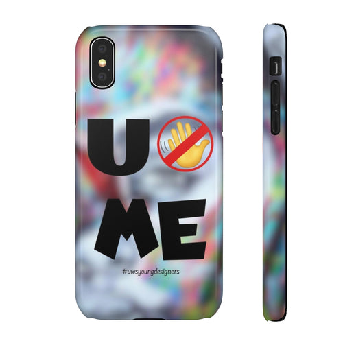"""U Can't 👀 Me"" Snap Cases"