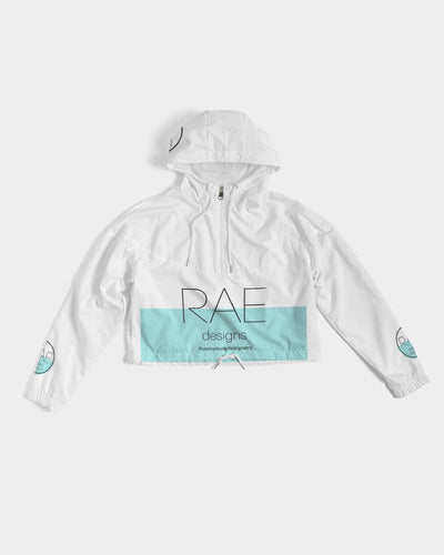 RAE Designs Women's Cropped Windbreaker