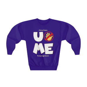 """U Can't 👀 Me"" Youth Crewneck Sweatshirt"