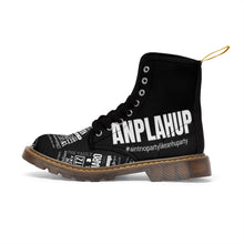 "Load image into Gallery viewer, ""ANPLAHUP"" Men's Canvas Boots"