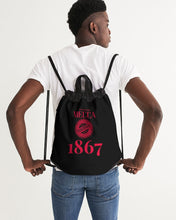 Load image into Gallery viewer, MECCA CERTIFIED 1867 Canvas Drawstring Bag