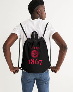 MECCA CERTIFIED 1867 Canvas Drawstring Bag