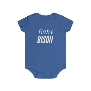 """BABY BISON"" Infant Rip Snap Tee"