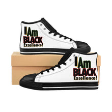 Load image into Gallery viewer, I AM BLACK EXCELLENCE Men's High-top Sneakers