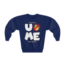 "Load image into Gallery viewer, ""U Can't 👀 Me"" Youth Crewneck Sweatshirt"