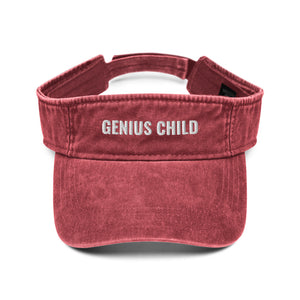 Genius Child Denim visor