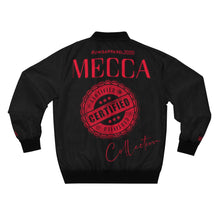 "Load image into Gallery viewer, ""MECCA CERTIFIED"" Men's AOP Bomber Jacket"