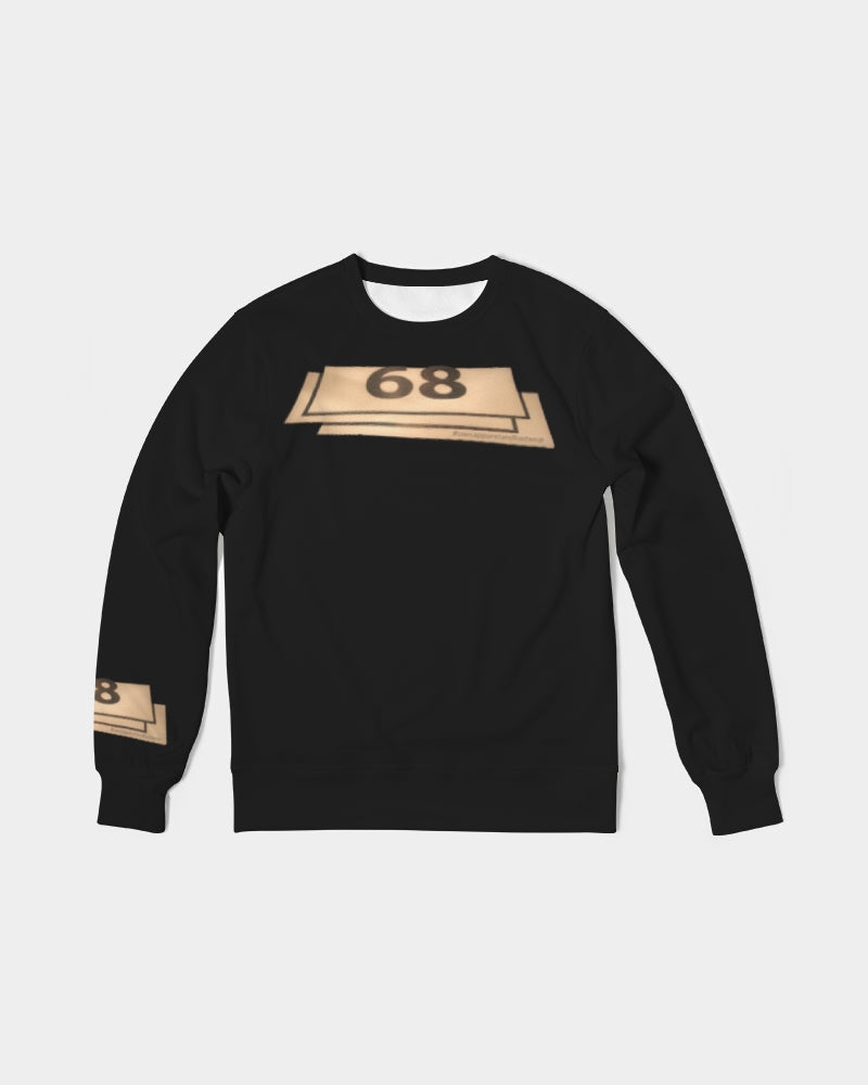68 Men's Classic French Terry Crewneck Pullover