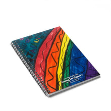 Load image into Gallery viewer, Rainbow Spiral Notebook - Ruled Line