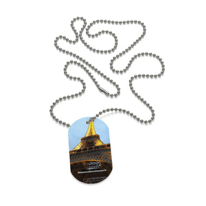 Eiffel Tour Dog Tag