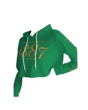 Load image into Gallery viewer, 1887 Women's Cropped Hoodie