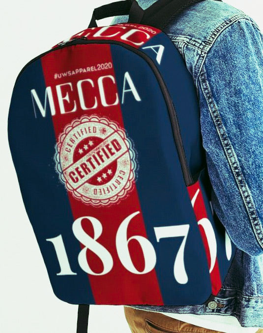 MECCA CERTIFIED 1867 Large Backpack