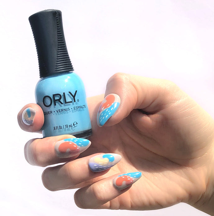 #ORLYManiFest - Nail Art by Mary Wolf